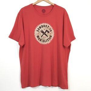 Life Is Good - Sawdust Is Man Glitter T-Shirt
